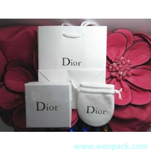 custom printed velvet gift bag/jewelry silk pouch/Christmas small drawstring bag