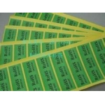 blue Self Adhesive stickers