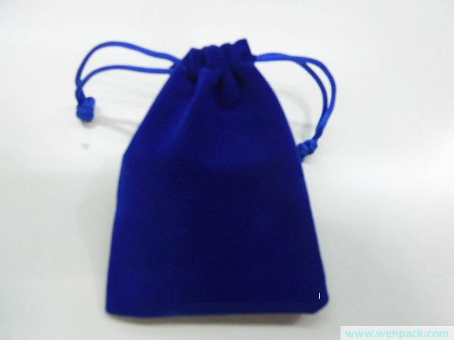 Custom Printed Velvet Gift Bag Jewelry Silk Pouch Christmas Small Drawstring