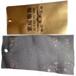 custom cotton hang tag for apparel