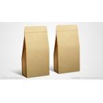 brown small Kraft Paper Gift Bag