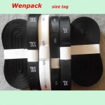 custom printed garment care tag/size label