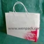 custom logo printed  PP plastic bag