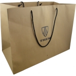 brown Kraft Paper Gift Bag for packaging