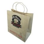 Shopping/Carrier/Tote white Kraft Paper Gift Bag