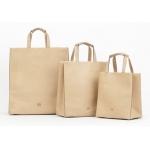 brown custom Kraft Paper Gift Bag