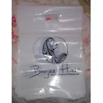 custom shopping printed logo plastic gift bag/plastic packaging bag for garment/printed LOGO promotion