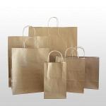 Shopping  Kraft Paper Gift Bag for packaging
